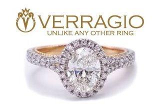 Verragio 1.36 Carat Oval Diamond (GIA Report) Ring in 18k White & Rose Gold Ring; $18,900 Appraisal