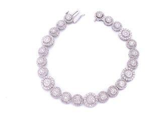 Stunning 3.00 Carat Diamond Estate Bracelet; $7500 Appraisal