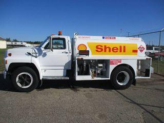 Ford F600 Fuel Truck