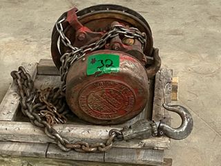 Wright Chain Hoist