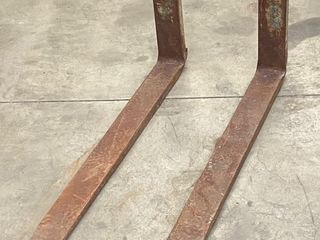 Set Of Pallet Forks