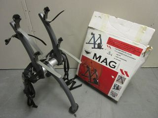 MAG BICYCLE TRAINER - NEW, SARIS BICYCLE CAR RACK