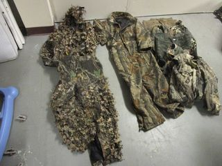 SCENT-BLOCKER CAMO LEAF SUIT, GUIDE SERIES CAMO COVERALLS, CARHARTT JACKET, MORE