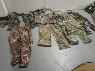 HUNTING CLOTHES, YOUTH SIZE