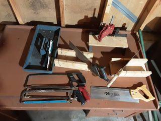 Saws, Miter Boxes, Hack Saws & Blades