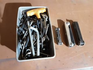 Large Lot Of Allen Wrenches