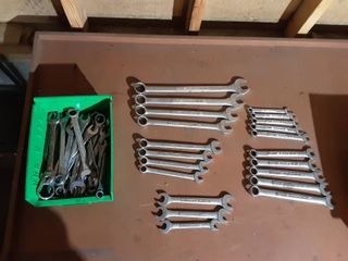 Assorted Wrenches Metric & Standard-Craftsman & Others