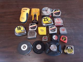 Tape Measures & Stud Finders