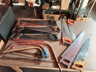 Band Saws (Diston & Others) & Hand Saws