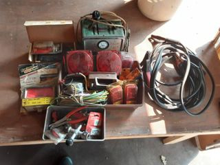 Batteries, Charger Cables, Trailer Lights & More