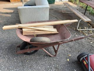 Wheel Barrow With Parts