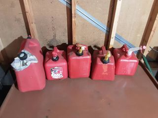 5-Gas Cans