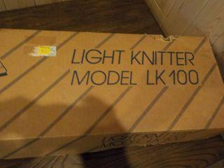 Light Knitter Model # LK100 In Box ...