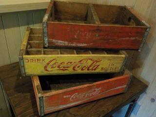 Coca-Cola Vintage Wood Crates ...