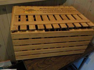 Anhieser Busch Dart Vintage Wood Cr...
