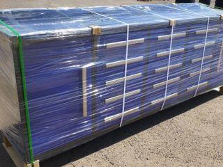 NEW 15 DRAWER 10FT BLUE STEEL WORK BENCH 15DB