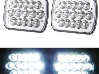 NEW (4) 4X6 HEADLIGHT CREE TRUCK LIGHT DB10A45