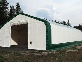 NEW 40X60X23 DOUBLE TRUSS FABRIC STORAGE BUILDING