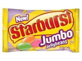 Starburst Jumbo Jellybeans 12 oz bag (pack of 3)