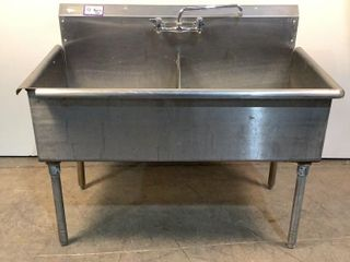 Stainless Steel 2 Bay Sink