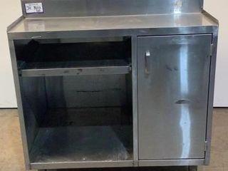 Stainless Steel Single Door Cabinet