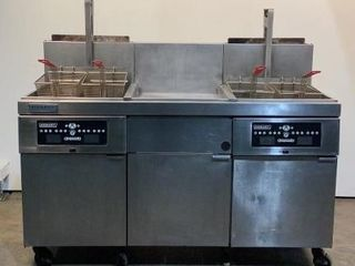 Hobart Double Gas Deep Fryer