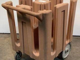 Cambro Rolling Dish Cart