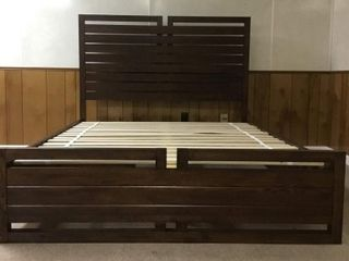 *NEW* King Bed Frame & Night Stand Set