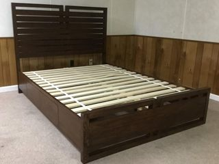*NEW* Queen Bed Frame & Night Stand Set