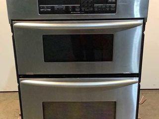 Kitchen Aid Microwave/Oven Combo KEMC308KSS02