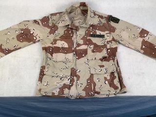 Surplus US Army Mountain Ranger Camo Shirt