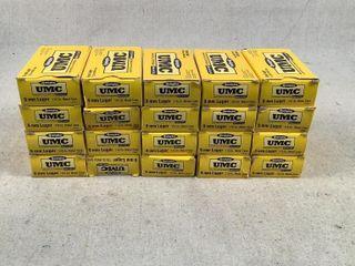 1000 ct Remington UMC 115gr 9mm Luger Ammo