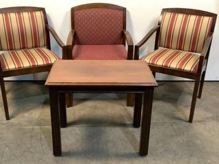 Chairs and End Table