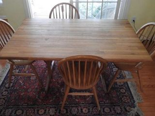 Lot # 4233 - Contemporary breakfast table and