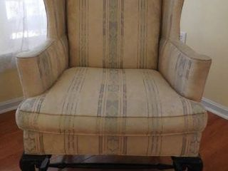 Lot # 4243 - Hickory Chair Company upholstered
