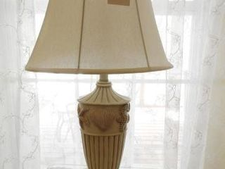 Lot # 4244 - Sea Themed table lamp with shells