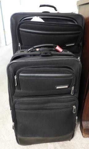 Lot # 4264 - (2) Skyline suitcases