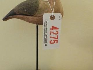 Lot # 4275 - Carved Shorebird 13?