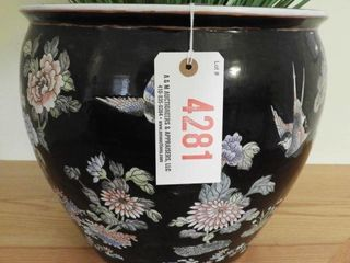 Lot # 4281 - Japanese Koi and Bird decorated