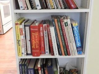 Lot # 4286 - Shelf full of cookbooks by various