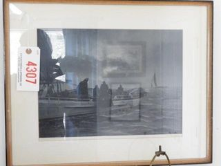 Lot # 4307 - Print of Aubrey Bodine Photo titled