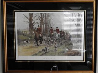 Lot # 4160 - ?The Pink of Condition? framed
