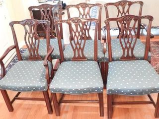 Lot # 4166 - Set of (6) Fancher Furniture Co.