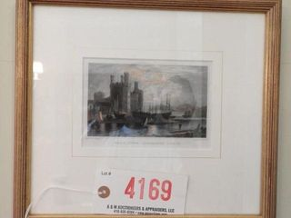 Lot # 4169 - (2) Framed lithographs Bilth and