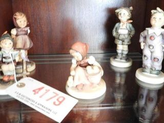 Lot # 4179 - Set of (5) Goebel Hummels