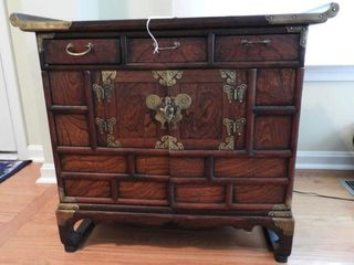 Lot # 4137 - Oriental style Rosewood and Mahogany