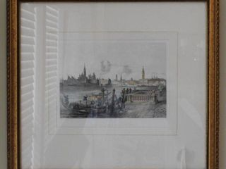 Lot # 4138 - Pair of framed color lithographs
