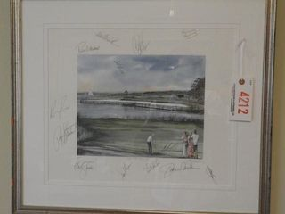 Lot # 4212 - ?The 19th Hole 1989? autographed