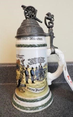 Lot # 4223 - German 1899/1901 lithopane stein