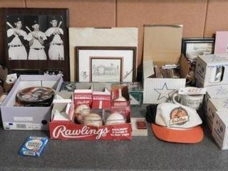 Lot # 4227 - Baseball Collectables lot: Black